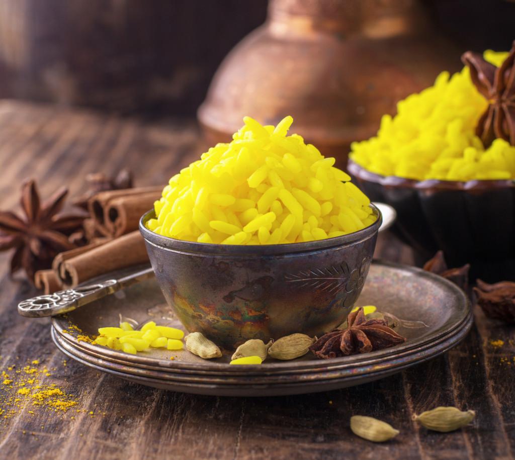 Kurkuma će bijeloj riži dati živu žutu boju te aromatičan i pomalo pikantan okus