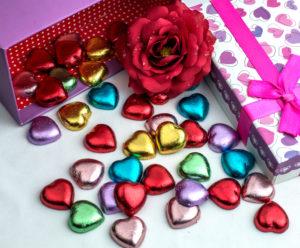 Čokolada kao suvenir za Valentinovo