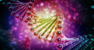 Digitalna ilustracija DNA